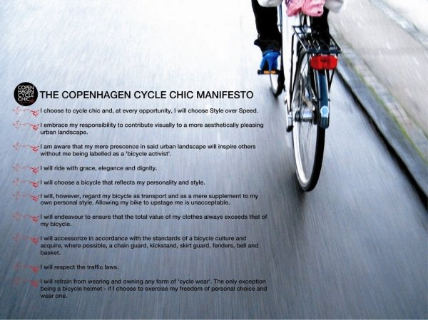 THE CYCLE CHIC MANIFEST